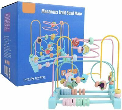 Beads Toy, Maze Circles Around Beads Abacus Math Toys Sliding Beads On Durable W • 9.99£
