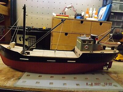 Little Cargo Boat Ready To Sail Just Add Water  • 75£