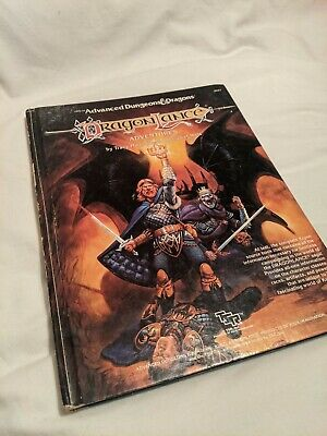 Dragonlance Adventures Advanced Dungeons And Dragons Roleplay Supplement • 9.99£