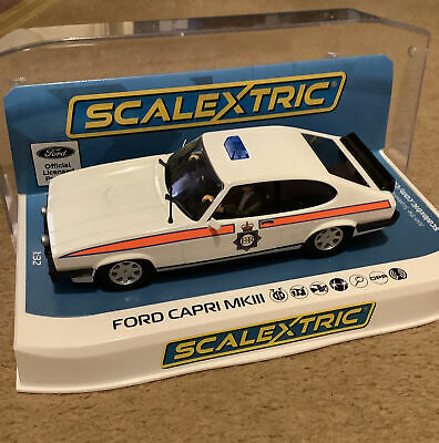 Scalextric C4153 Ford Capri MKIII Greater Manchester Police - NEW • 31£