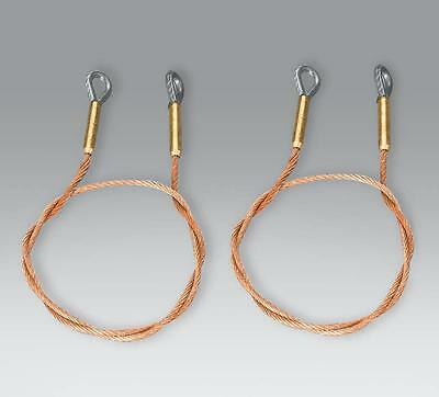 Taigen Metal Tow Cables For 1/16 Scale Heng Long Tiger 1 1:16 • 11.99£
