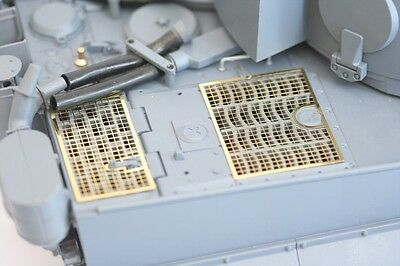 Taigen Photo-etch Grills For 1/16 Scale Heng Long Tiger 1 1:16 • 8.99£