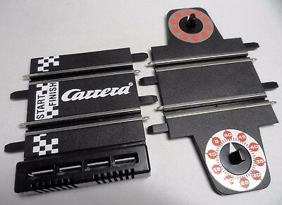 New Carrera Go Lap Counter + Start Grid Track Sections (4 Plug Version) • 5.99£