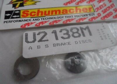 New Vintage Schumacher ABS Brake Discs U2138M • 8.99£
