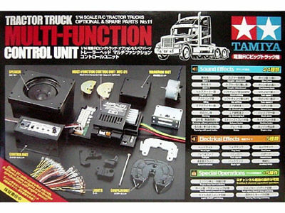 Tamiya 56511 Tractor Truck Multi Function Control Unit - RC Car Spares • 318.89£