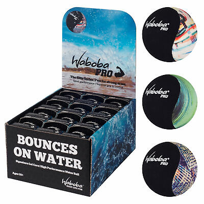 Waboba Pro Water Bouncing Ball Outdoor Fun Game Lakes Oceans Pool Rivers Puddles • 8.26£