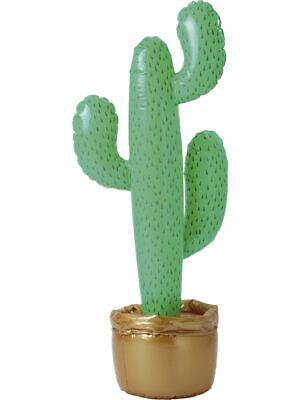 3ft Inflatable Cactus Wild West Cowboy Mexican Western Fancy Dress Party Desert  • 3.99£