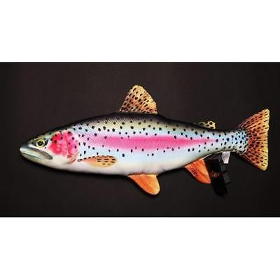 Rainbow Trout Fish 50cm Cushion Soft Toy Nauticalia 56126 • 16.96£