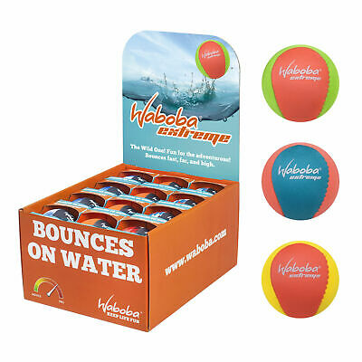 Waboba Extreme Brights Water Bouncing Ball Outdoor Pool Toy Game Birthday Gift • 7.15£