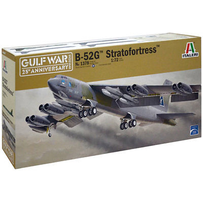 Italeri 1378 B-52 Stratofortress 1:72 Aircraft Model Kit • 46.10£