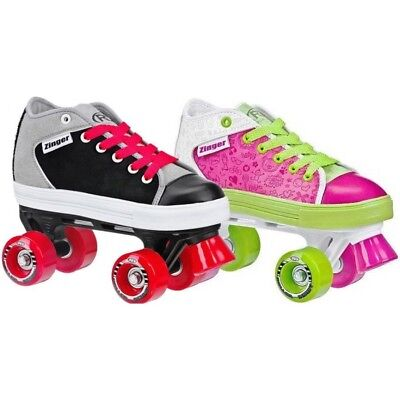 Roller Derby Zinger Junior Roller Skates - Free Stickers & Free Delivery • 29.95£