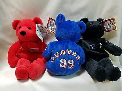 Salvino's Bammers Wayne Gretzky Set Of 3 Bears New York Rangers Kings Oilers • 11.48£