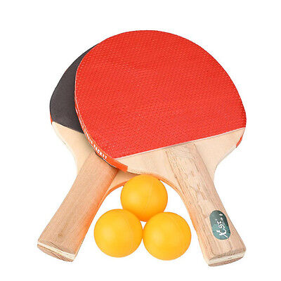 5 All In One Table Tennis Set Paddles Bats Balls Games Party 2 Players Ping Pong • 3.79£