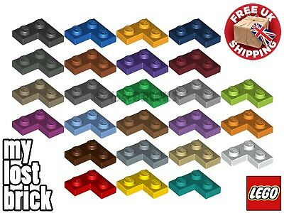 10 Pack Of NEW LEGO Plates 2x2 Corner (Part 2420) + SELECT COLOUR + FREE POSTAGE • 3.25£