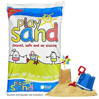 Top Quality Natural Washed & Graded Childrens Play Sand • 12.49£