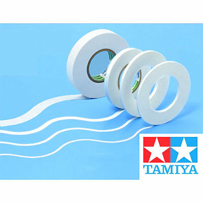 TAMIYA Masking Tape For Curves 2mm 3mm 5mm 12mm - 20m Roll - Choose • 5.49£