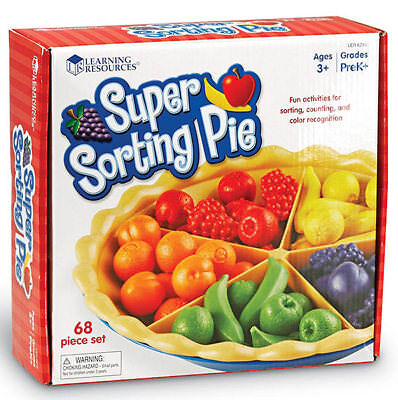 Learning Resources Super Sorting Pie • 22.95£
