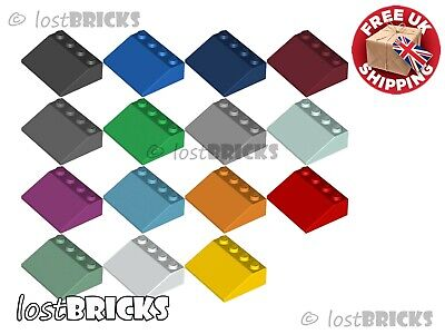 5 Pack Of NEW LEGO Slopes 3x4 33° (Part 3297) + SELECT COLOUR ++ FREE POSTAGE • 6.25£