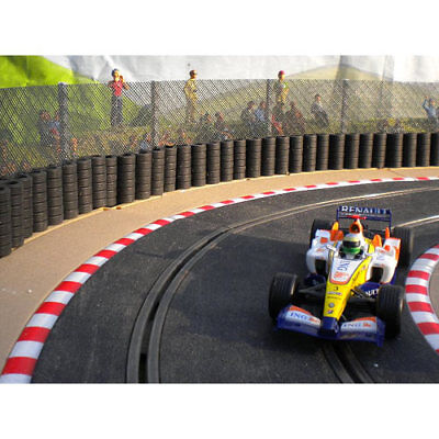 SLOT TRACK SCENICS FK2 Fencing Kit Straight Staunchions - For Scalextric • 10.95£