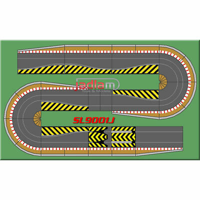 SCALEXTRIC BUNDLE C8514 C8512 Double Hairpin Extension Kit • 74.99£