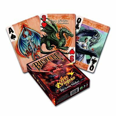 Bicycle Anne Stokes Age Of Dragon Playing Cards Poker Deck • 5.99£