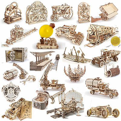 UGEARS Mechanical Wooden Model Kits - Choose From The Drop Down Menu • 34.19£