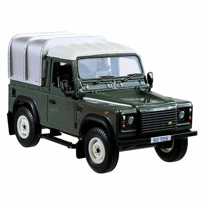 BRITAINS Land Rover Defender 90 Green & Canopy 1:32 Diecast Farm Vehicle 42732A1 • 18.43£
