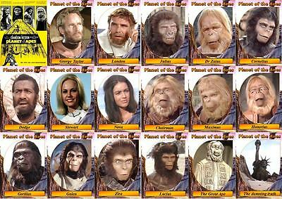 Planet Of The Apes (1967) Movie Trading Cards. Charlton Heston. • 6£