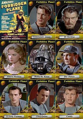 Forbidden Planet (1956) Movie Trading Cards. Leslie Nielsen Anne Francis Sci Fi • 3£
