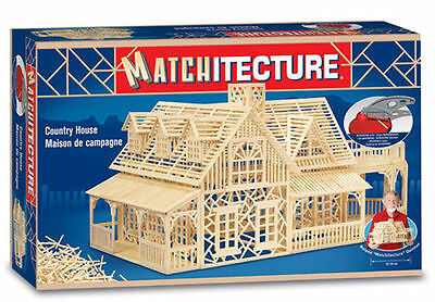 Matchitecture Country House Matchstick Kit 6623 Free Postage • 39.95£