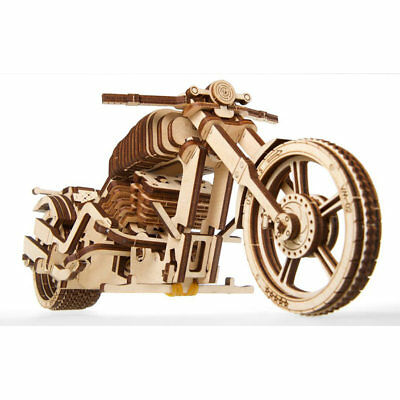 UGEARS Bike - Mechanical Wooden Model Kit 70051 • 18.89£