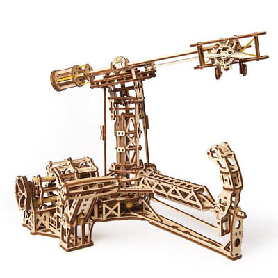 UGEARS Aviator - Mechanical Wooden Model Kit 70053 • 53.09£