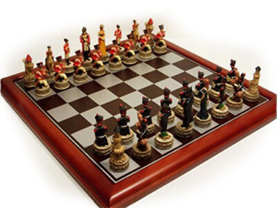 NEW IN BOX Veronese Waterloo Cast Resin Chess Pieces - Board NOT Included • 83.13£