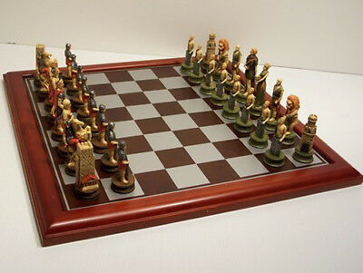NEW Veronese Crusaders Chess Pieces Board NOT Included • 66.50£