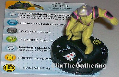 TELLUS #048 Superman And The Legion Of Super-Heroes DC HeroClix Super Rare • 4.41£