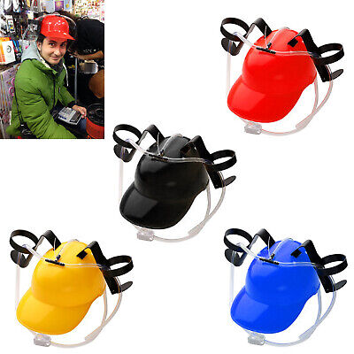 Novelty Drinking Helmet Beer Hat Drink Drinking Holder Soda Party Stag Do Game • 6.99£