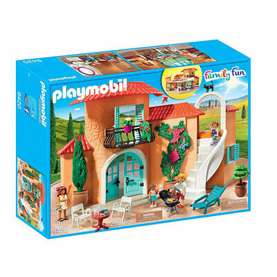 PLAYMOBIL Summer Villa With Balcony - Family Fun 9420 • 49.95£
