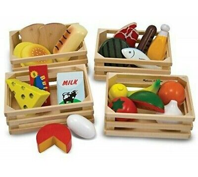 Melissa And & Doug Food Groups Set Wooden Educational Toys • 15.99£