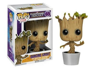 Funko POP! Marvel: Dancing Groot Guardians Of The Galaxy Bobble Action Figure 65 • 11.99£