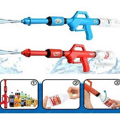 2 X Cola Water Gun Fight Blaster Super Soaker Toy Shooter Fits Screw Top Bottles • 5.75£