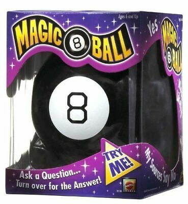 Magic 8 Ball Toy Fortune Teller Classic Game Answers Vintage Mattel • 12.99£