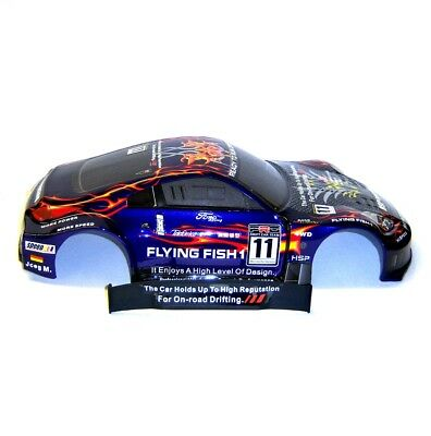 12309 1/10 Scale Drift Touring Car Body Cover Shell RC Purple Cut • 17.99£