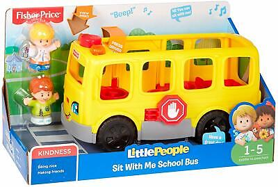 Fisher-Price Little People Sit With Me School Bus • 19.99£
