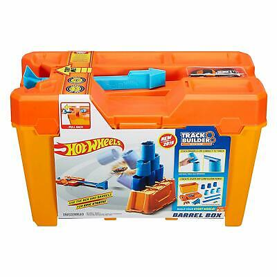 Hot Wheels Track Builder Barrel Box With Built In Car Launcher In Lid • 22.99£