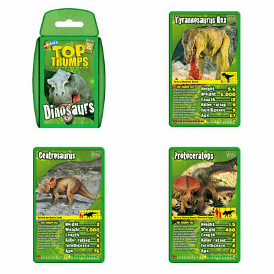 Dinosaurs Top Trumps Card Game • 4.30£