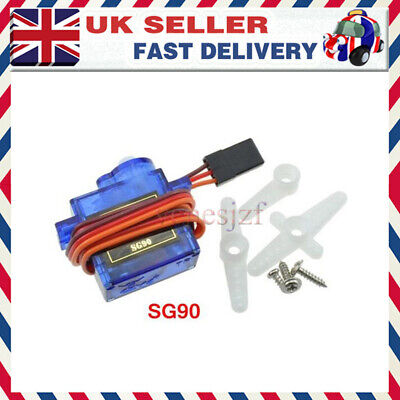 1SET SG90 96 Micro Airplane Remote Control Servo Motor RC Robot Arm Helicopter • 11.56£