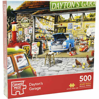 Daytons Garage 500 Piece Jigsaw Puzzle (null), Toys & Games, Brand New • 6£