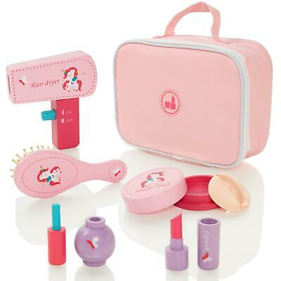 Milly & Ted Wooden Girls Pretend Play Cosmetic Make-Up Beauty Set • 5.99£