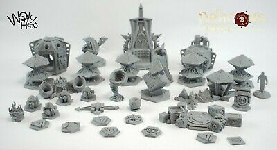 Blackstone Fortress Escalation Compatible Custom Token And Marker Set  • 50£