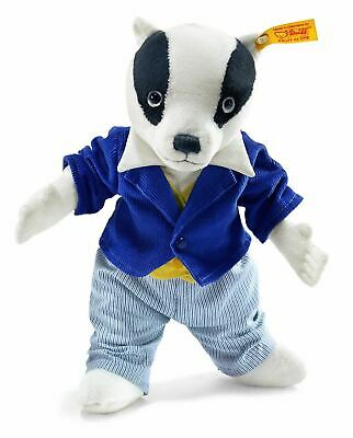 Steiff Bill Badger Childrens Toy Christmas/Birthday Gift, 017049 • 39.95£